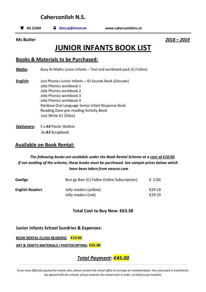 Junior-Infants-Book-List-page-001