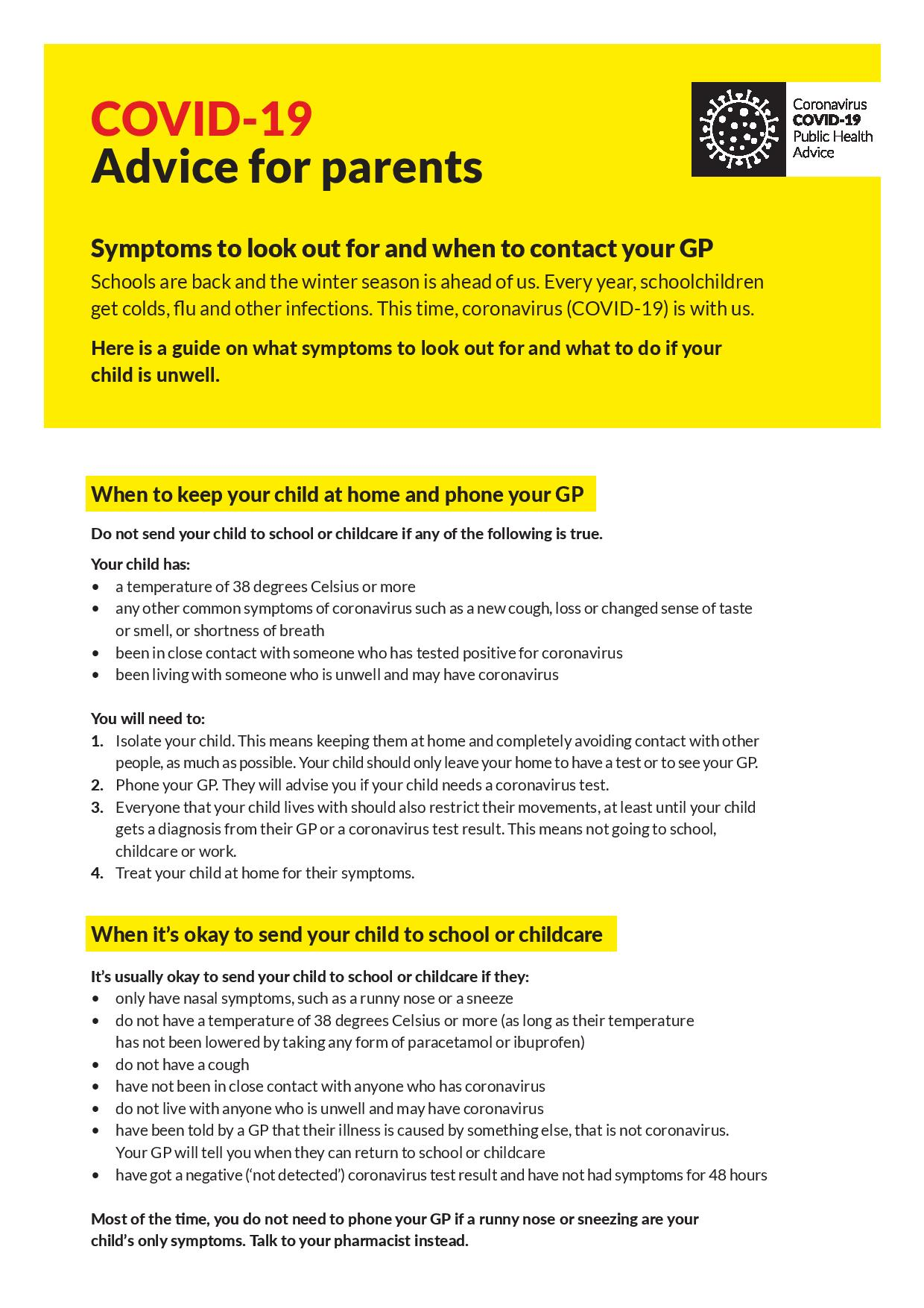 Information from HSE for parents-page-001
